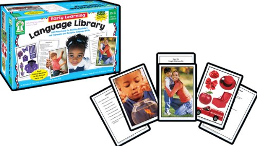 Early Learning Language Library Learning Cards, Grades PK - K by Brand: Key Education Publishing