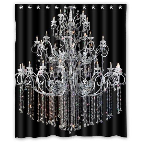 Compare Price: chandelier shower curtain - on Statements Ltd