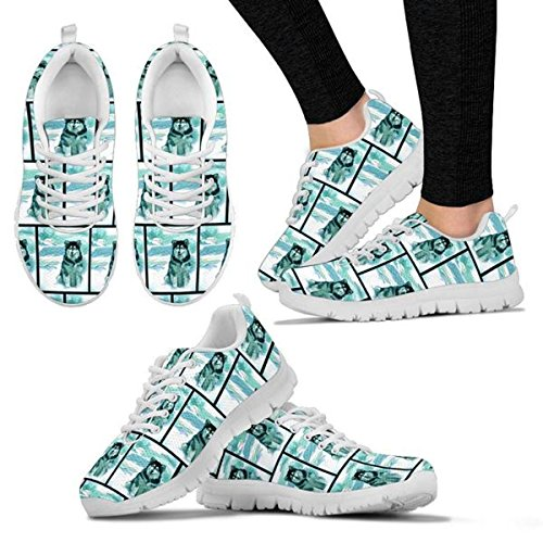 Sneakers Women's Print Women's Dog Malamute Breed Pattern Running Shoetup All Choose Shoes Casual Your Alaskan B5dwqXZ