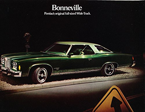 Pontiac Sales Bonneville Brochure (1974 Pontiac Bonneville Original Car Sales Brochure Folder)