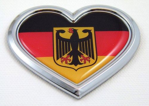 deutchland d car emblem - 1