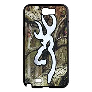 Browning Design Durable Rubber TPU Back Case Protective Skin For Samsung Galaxy Note 2 Case AKN225143