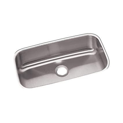 Dayton DXUH2816 Single Bowl Undermount Stainless Steel Sink