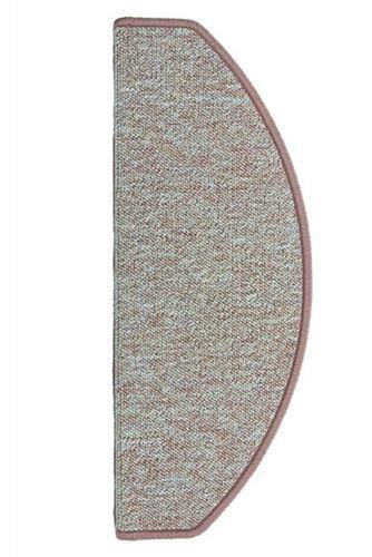 15 St/ück Stufenmatten Camp Melangeschlinge beige 25 x 65 cm