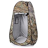 OUTAD Portable Waterproof Pop up Tent Camping Beach Toilet Shower Changing Room Outdoor Bag (Camouflage)