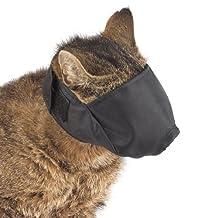 Guardian Gear Nylon Cat Muzzle, Medium, Black
