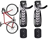 Dirza Bike Wall Mount Rack with Tire Tray