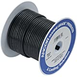 Ancor Marine Grade Primary Wire and Battery Cable (Black, 25 Feet, 8 AWG)