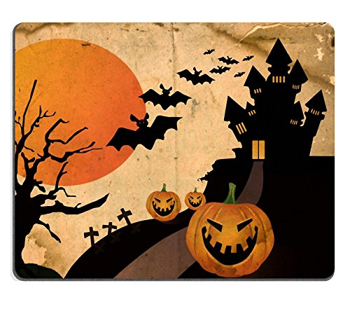 Funny Halloween Images (MSD Mousepad Grunge halloween background Image 10948931 Customized Tablemats Stain Resistance Collector Kit Kitchen Table Top DeskDrink Customized Stain Resistance Collector Kit Kitchen)