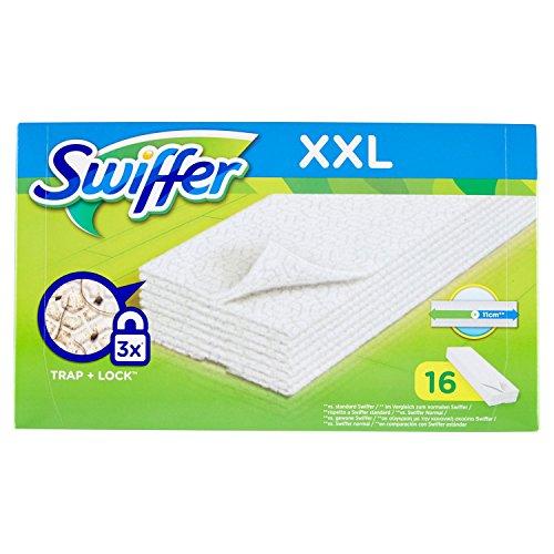 Swiffer XXL - Lot DE 16 Chiffons à Poussière pour Balai