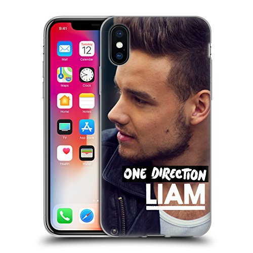 Official One Direction Side View Liam Payne Photo Soft Gel Case for Apple iPhone X