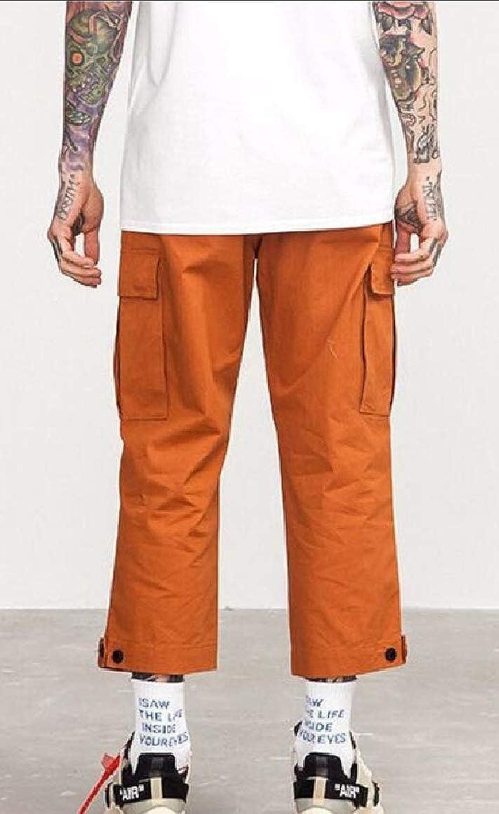 omniscient Mens Casual Military Cargo Camo Combat Work Pants Trousers