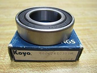 Koyo 6005RS C3 Deep Groove Sealed Ball Bearing 60052RSC3GXM