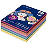 "Pacon Lightweight Construction Paper, 10 Assorted Colors, 9"" x 12"", 500 Sheets (6555)"