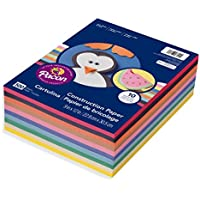 Pacon Lightweight Construction Paper, 10 Assorted Colors,...