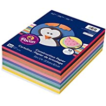 """Pacon Lightweight Construction Paper, 10 Assorted Colors, 9"""" x 12"""", 500 Sheets (6555)"""