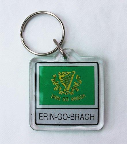 Erin-Go-Bragh - Lucite Key Rings (Lucite Rings Band)