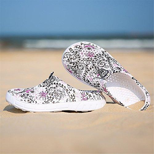 Rutschfest für Atmungsaktiv Outdoor Damen Strand Dry Clogs AIRAVATA Wasserschuhe Leichtgewicht Sports Sommer Aquaschuhe Quick Black773 pqww187