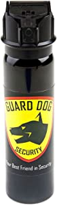 Guard Dog Security Fogger 4 oz Pepper Spray with UV dye - Police Strength with Flip Top Design – 25 Bursts