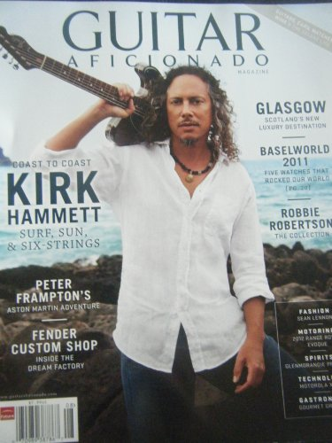 Guitar Aficionado Magazine (Coast to Coast Kirk Hammeyy; Surf, Sun & Six-Strings, Vol. 3 No. 4)