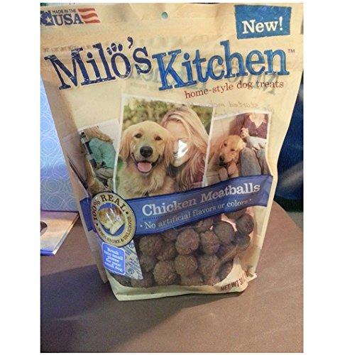 Milos Kitchen Chicken Meatballs Treat product image