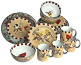 Lenox Winter Greetings Everyday Stoneware 16-Piece Service for 4
