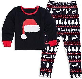 Pijamas de Navidad con del Diseno del Gorro del Navidad para ...