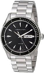 Hamilton Men's H37511131 Jazzmaster Analog Display Quartz Silver Watch
