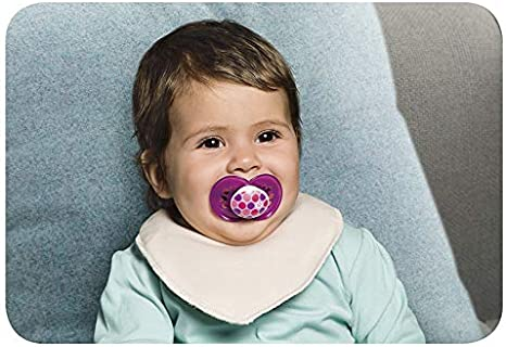 MAM Soother with Soft Silicone Nipple MAM French Attitude Design Collection Pacifier for Babies 6+ months Boy Baby Essentials 2 Pacifiers /& Sterilizing Box 6+ months