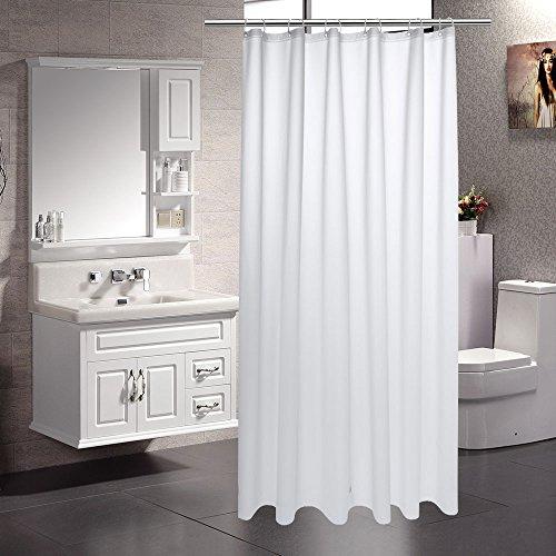 UFRIDAY Heavy Duty PEVA Shower Curtain Liner, Semi-Transparent Shower Curtain Non-toxic, 72 x - Transparent Curtain Plastic