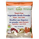 GoBIO! Organic Bouillon Cubes and Broth-Yeast-Free Vegetable Broth Powder Refill