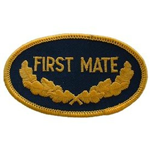 EagleEmblems PM0242 Patch-Usn,Oval,1ST Mate (3.5'')
