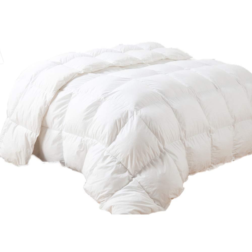 BYNSM羽毛布団は、低刺激性の肌にやさしい通気性の寝具、クリスマスの贅沢な,160*220cm B07KVZ5LDY  160*220cm