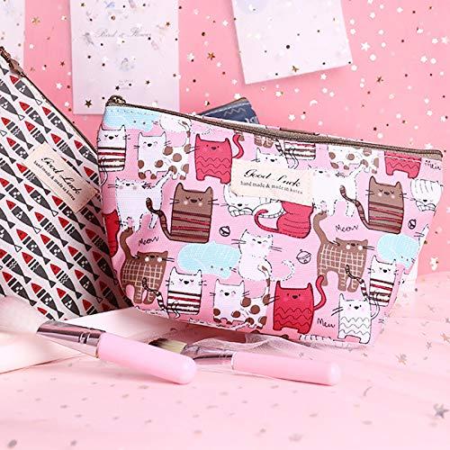 Impermeabile 14cm Trucchi Cosmetici 13 Di Donna Size stile Wash e Stile Bag a Borsa Chakil Pochette Animato Cotone Conservazione Cartone 21 wxKAfZEq0a