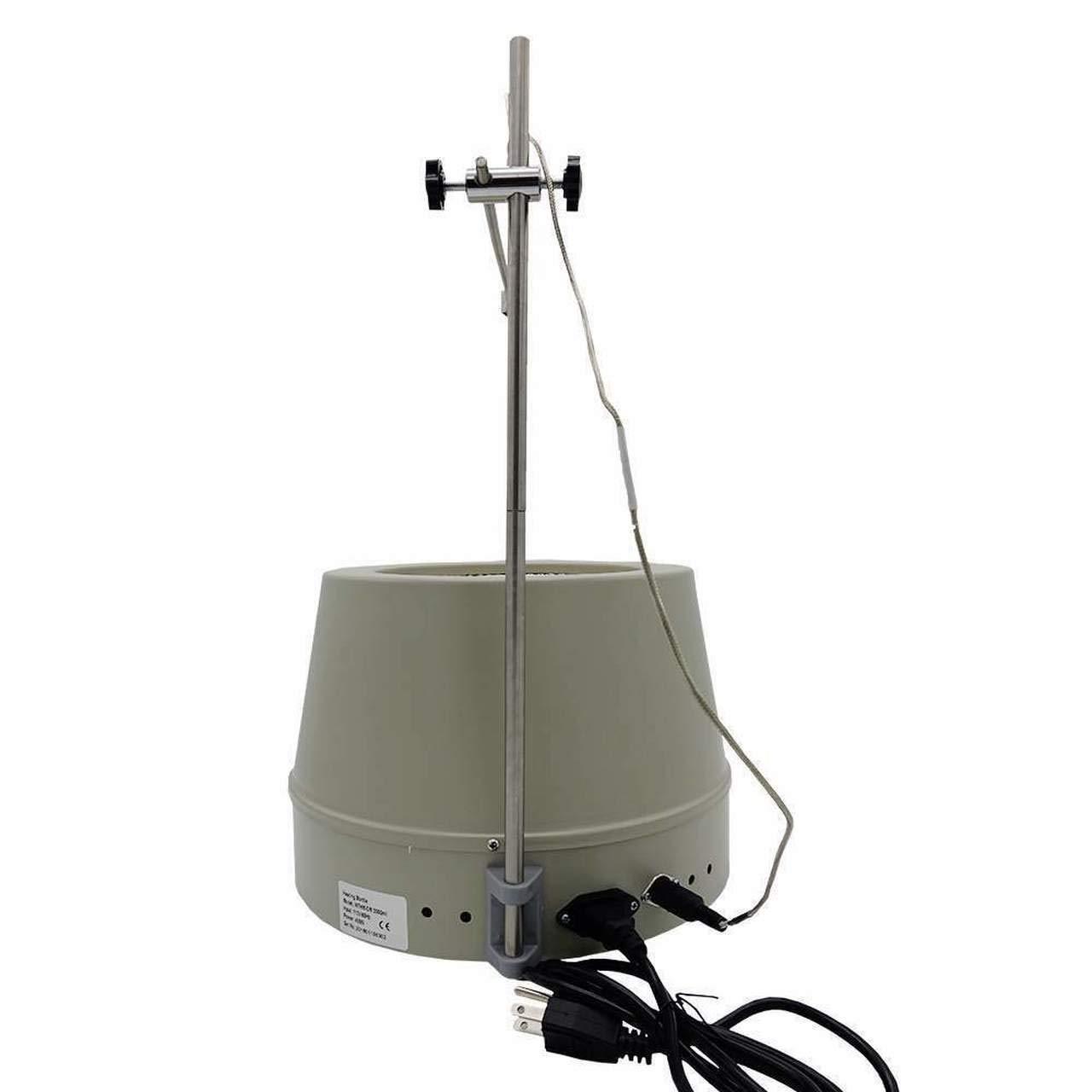 USA Lab 500ml 300/°C 1200 RPM Digital Magnetic Heating Mantle
