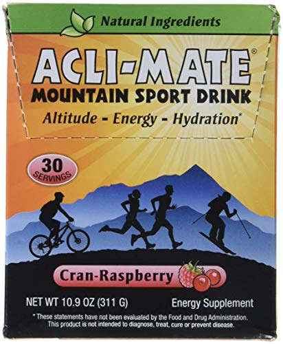 Acli-Mate Mountain Sport Drink, Cran-Raspberry, 13.8-Ounce