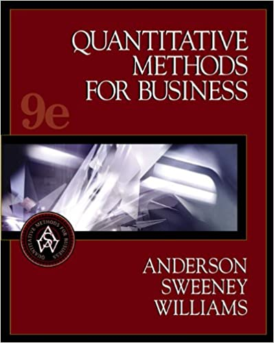 Quantitative methods for business with cd rom 9th edition david quantitative methods for business with cd rom 9th edition 9th edition fandeluxe Choice Image