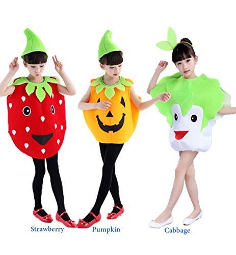 Hallo (Strawberry Costume Makeup)
