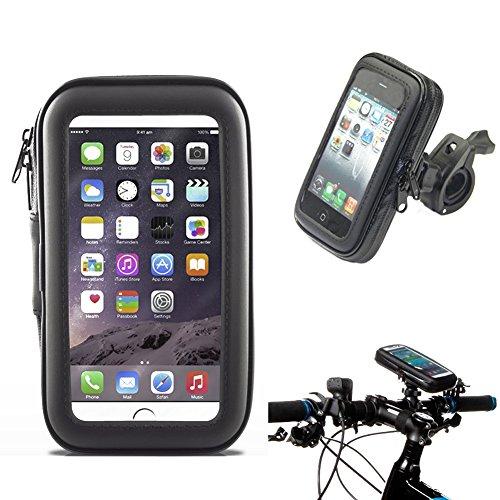 Waterproof Bike Frame Bag Bicycle Handlebar Cellphone Case Cover Mount...