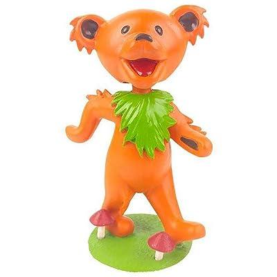 Kollectico DB6O Grateful Dead Dancing Bear Bobblehead, Orange: Toys & Games