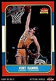 1986 Fleer # 89 Kurt Rambis Los Angeles Lakers (Basketball Card) Dean's Cards 8 - NM/MT Lakers