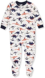 Baby Boys 12M-24M One Piece Dinosaur Fleece PJs