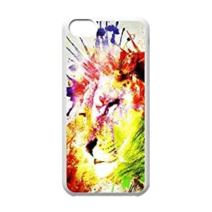 LJF phone case Lion Original New Print DIY Phone Case for iphone 6 plus 5.5 inch,personalized case cover ygtg541241