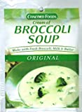 Concord Foods, Cream of Broccoli Soup Mix, 1.25oz Packet (Pack of 6)