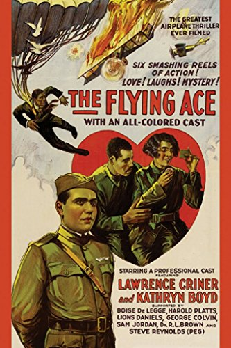 ArtParisienne The Flying Ace The Greatest Airplane Thriller Ever Filmed 12x18-inch Paper Giclée Print
