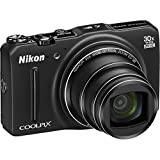 digital camera with gps - Nikon COOLPIX S9700 16.0 MP Wi-Fi Digital Camera with 30x Zoom NIKKOR Lens, GPS, and Full HD 1080p Video (Black) (Certified Refurbished)