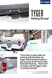 Tyger Auto TG-BC3N1029 Tri-Fold Pickup Tonneau Cover (Fits 05-16 Nissan Frontier 6 feet (with/without utility track); 09-14 Suzuki Equator 6 feet (72 inch))