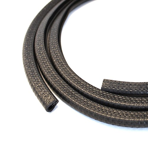 Tile Edging Trim - Edge Trim Black Small, 1/8