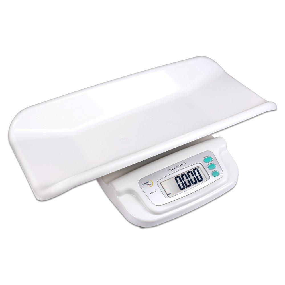 S/O® Bébé Balance XL Digital jusqu'à 25kg Baby avec coque amovible Balance animaux d'allaitement kinderwaage infantile Balance product image