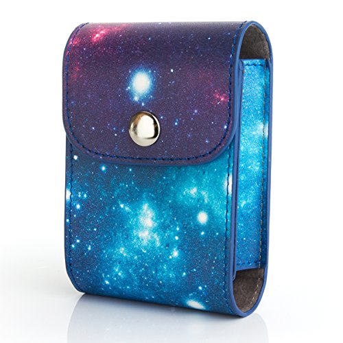 —WOODMIN Exclusive Starry Sky Galaxy PU Leather Storage B